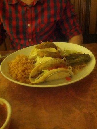 Guadalajara Mexican Grill & Bar: titos trio tacos