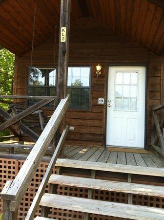 Washington DC, NE KOA: The Lodge cabin