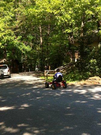 Washington DC, NE KOA: Pedal cars