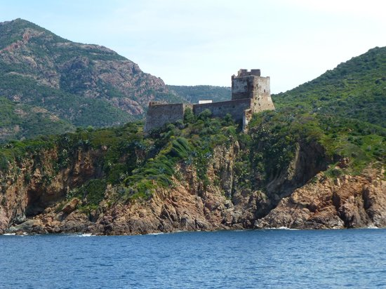 Golfo di Porto, Girolata e Riserva di Scandola: Tour Génoise