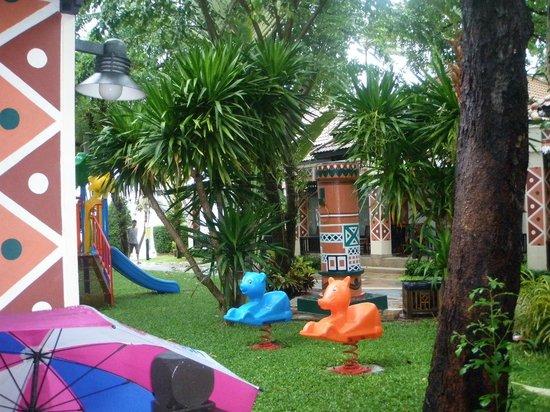 Chaba Cabana Beach Resort : Playground