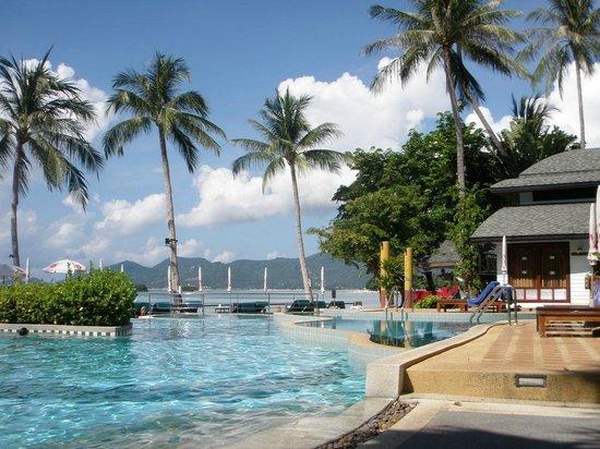 Chaba Cabana Beach Resort : View from R & R spot