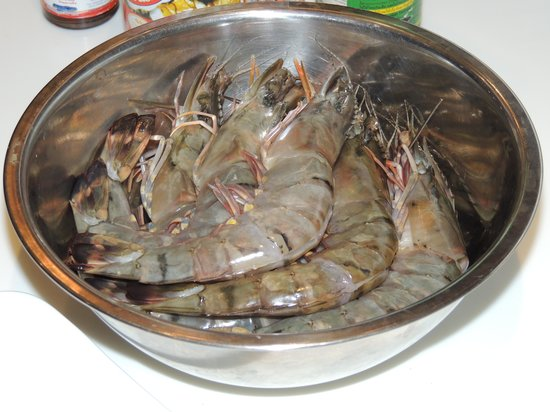 The Lotus Terraces: Prawns the size of small lobster tails