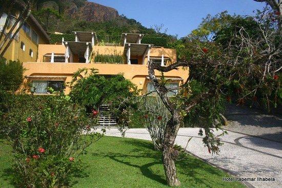 Itapemar Hotel: Fachada das suítes