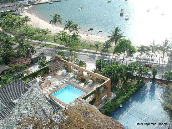 Itapemar Hotel: Vista do alto do pico do Itapemar