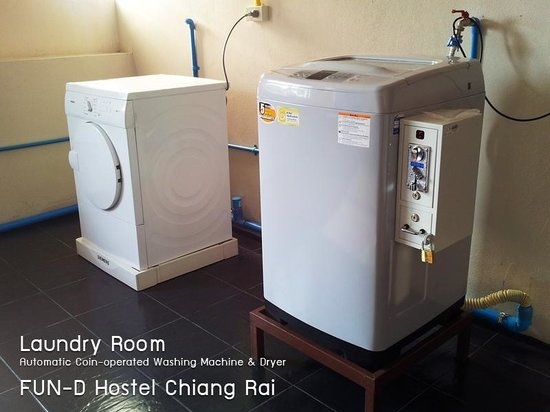 FUN-D Hostel: Laundry Room
