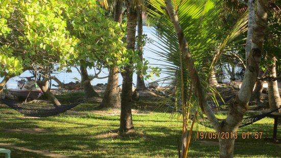 Majika's Island Resort: Hammocks for a lazy afternoon