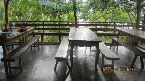 Majika's Island Resort: Dining Area