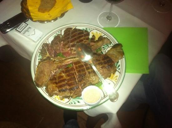 Osteria del Vicario: bistecca alla fiorentina