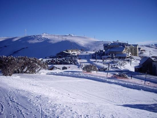 Mount Hotham Alpine Resort: The Summit and village centre Mt Hotham