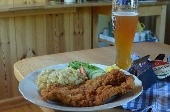 Söderhult Livet på landet: Wienerschnitzel med weissbier