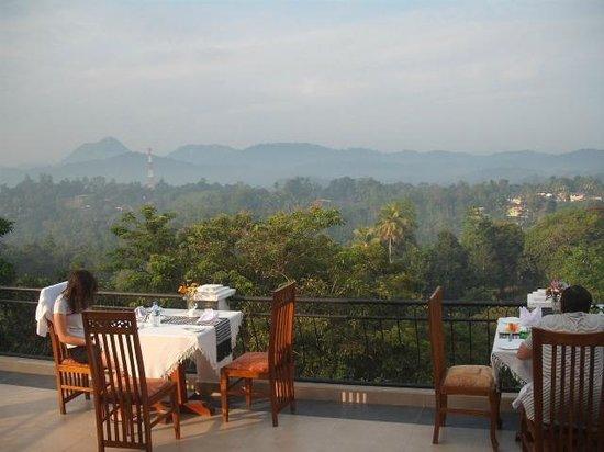 Elegant Hotel: Breakfast at Roof Top