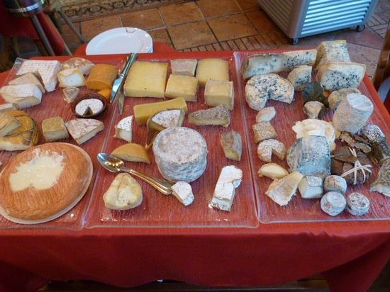 Hotel Restaurant les Pins : Les 38 fromages