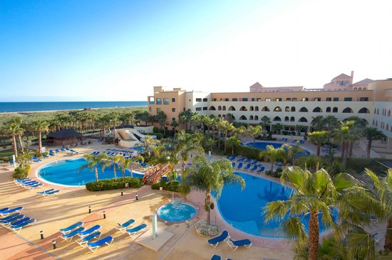 Isla Canela, Spanien: Piscinas del hotel