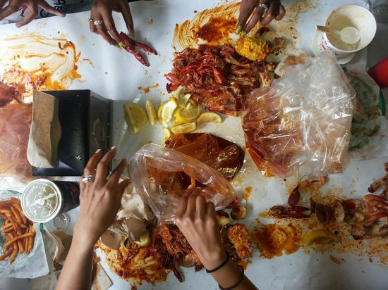 The Boiling Crab: Diving in!