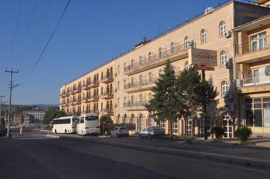 Tas Saray Hotel: Frontage
