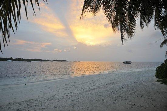 Conrad Maldives Rangali Island: Sunset in Paradise
