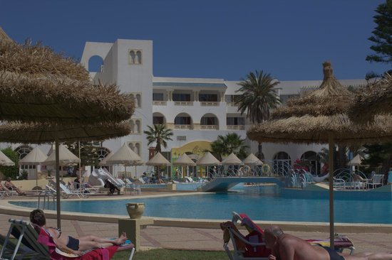 Ramada Liberty Resort Hotel: vue sur une partie des chambres