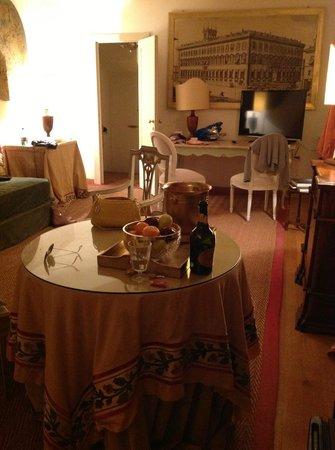 Residenza Ruspoli Bonaparte: living room