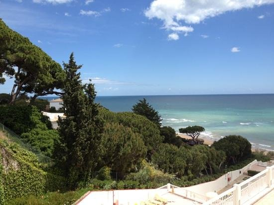 Muthu Clube Praia da Oura: view from our apartment