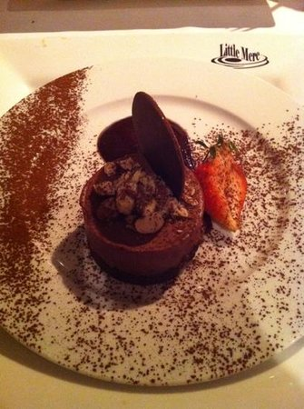 Little Mere Restaurant: Chocolate & hazelnut torte
