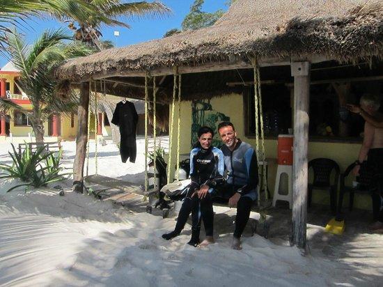 Bahia Divers: Centro de buceo... relax total