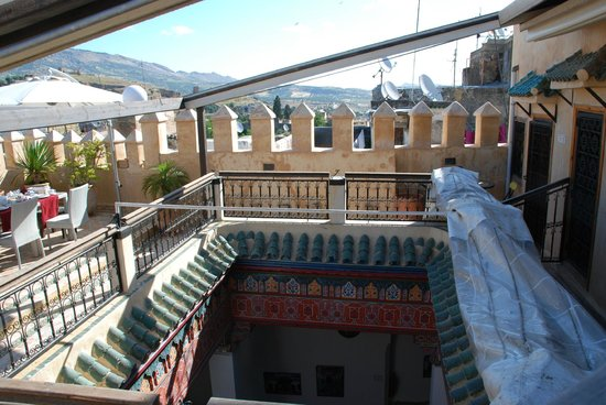 Riad Adarissa : View of the roof and terrace
