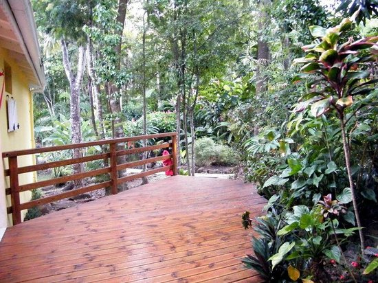Chemin d 39 acc s picture of au jardin des colibris for Au jardin des colibris