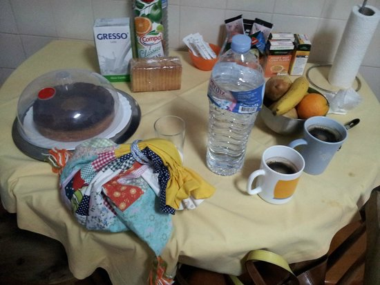Monte do Zambujeiro: breakfast