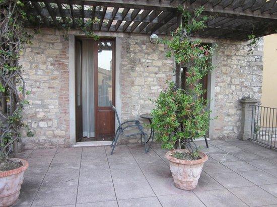 Hotel Fonte Cesia : terrazzo camera