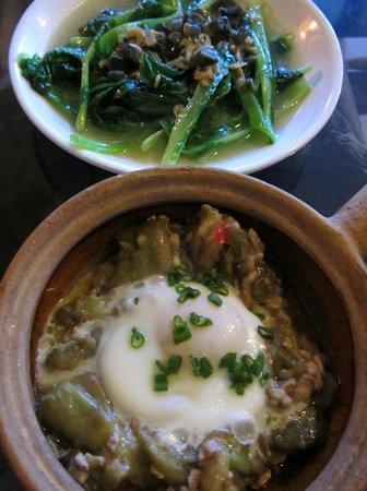 Dali Windoo Resort: Dinner dishes