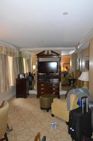 The Mayflower Hotel, Autograph Collection: Zimmer mit zwei Kingsizebetten