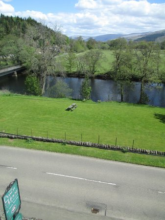 Coach House Hotel: Room with a view!