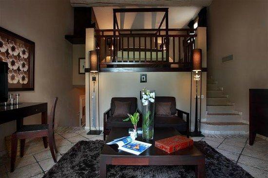 Hotel Saint Amour La Tartane : Suite duplex