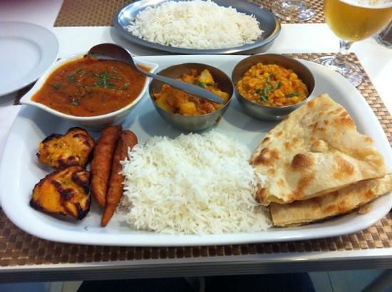 Indian House Restaurant: Die Spezialität des Hauses - yammi!