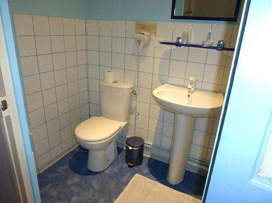 Hotel La Tourelle Du Beffroi : Dusche/WC