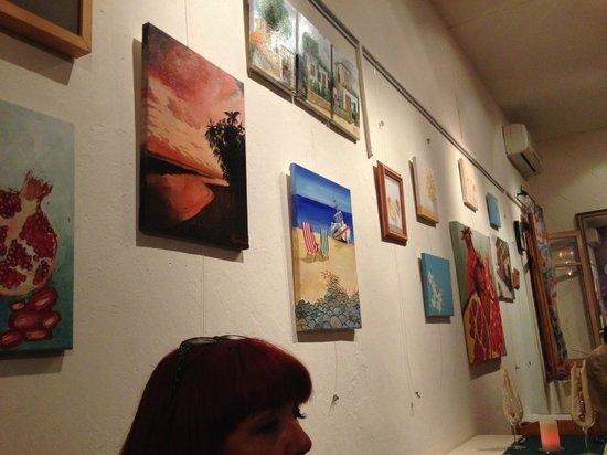 Tweedies: Wall art.