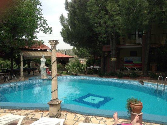 Atilla's Getaway: Then pool