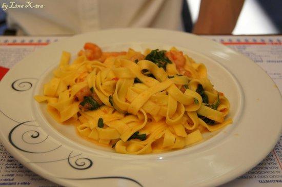 Osteria Dell'Agnolo : Паста с морепродуктами