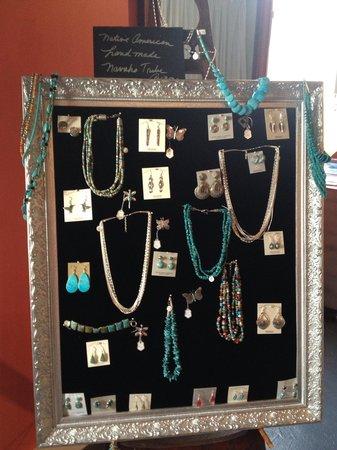 Savannah silver works: Handmade items throughout
