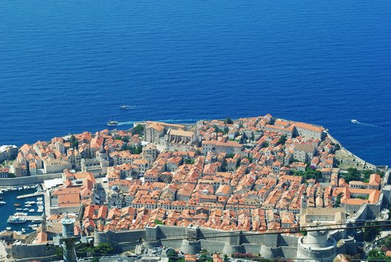 Visia Dubrovnik Multimedia Museum: Overlooking the city from the top of the mountain