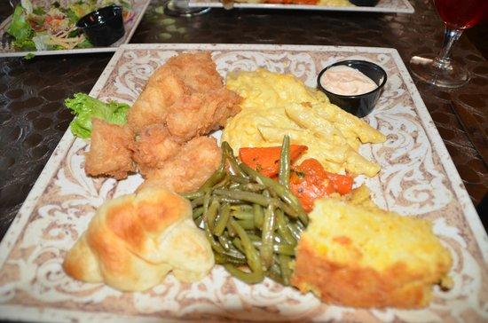 Ivy House: Cod dinner - plenty to eat.