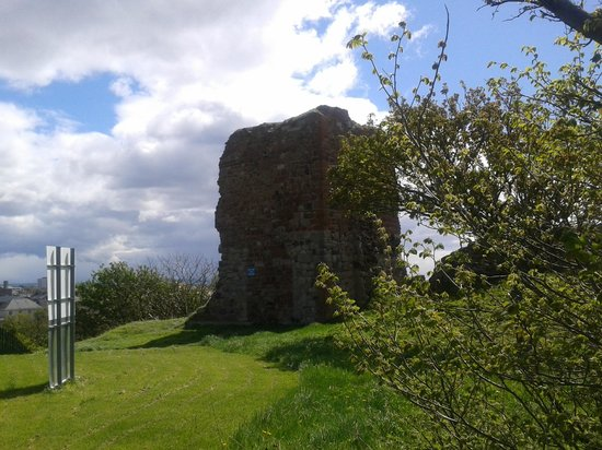 Ardrossan Castle on Cannon Hill