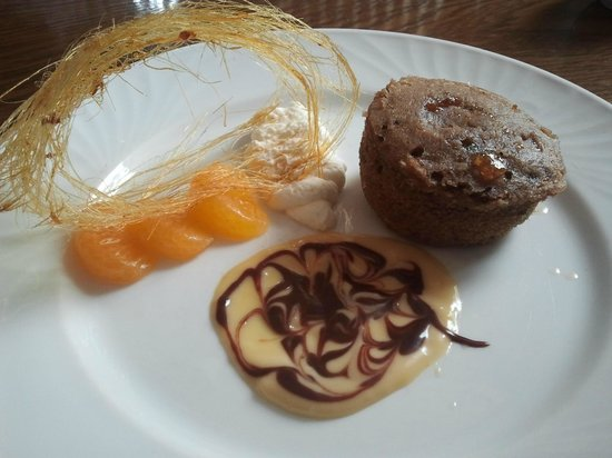 Lanes : Excellent pud - Hot Ginger - yum