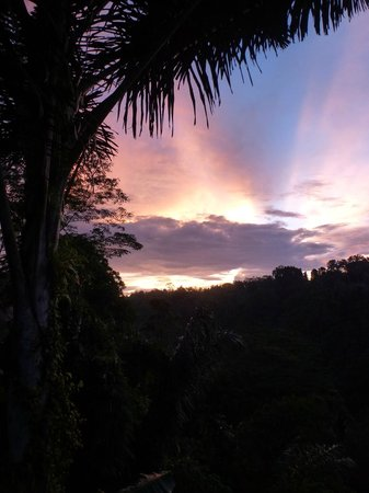 Nandini Bali Jungle Resort & Spa: Welcoming the new day - dawn at the resort