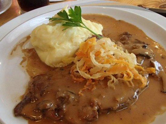 Santis, tagaytay, philippines: minute steak