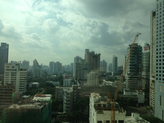 Jasmine City Hotel: 14階の部屋からの眺め