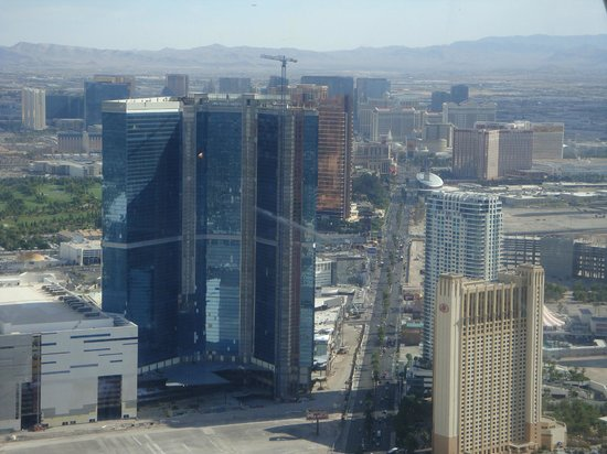 Top of the World Restaurant at the Stratosphere: view from the Stratosphere