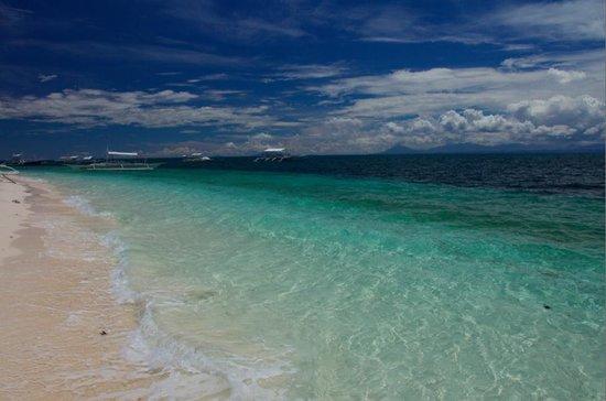 AABANA Beach & Watersport Resort Malapascua: pristine beach in front of the resort