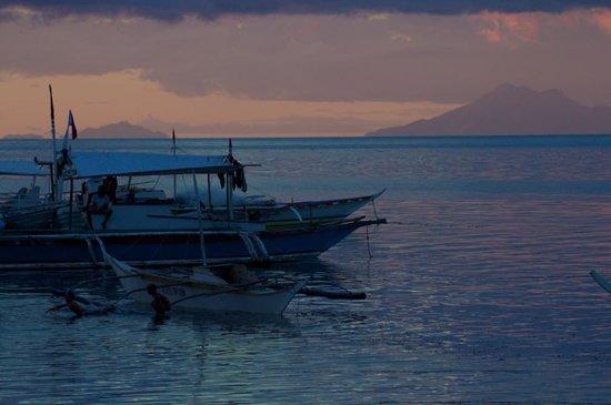 AABANA Beach & Watersport Resort Malapascua: sunset